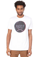 REEF Board Puck S/S T-Shirt white