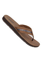 REEF Bonzer Sandals dark brown/plai