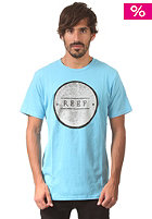 REEF Branded S/S T-Shirt sky blue