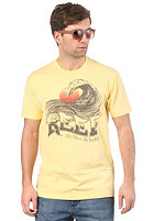REEF Chocolate Wave S/S T-Shirt mellow/yellow