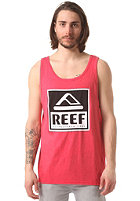 REEF Classy Tank Top red heather