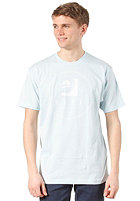 REEF Diced Circle S/S T-Shirt light blue