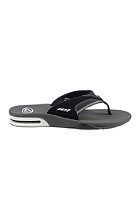 REEF Fanning black/white fla