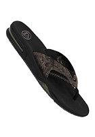 REEF Fanning Prints Sandals black/tan