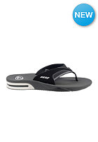 REEF Fanning Sandals black/white fla