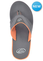 REEF Fanning Sandals orange/grey