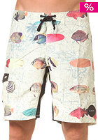 REEF Fish Chart Boardshort yellow