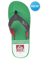 REEF HT Print Sandals red/green