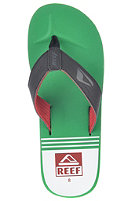 REEF HT Prints Sandals red/green
