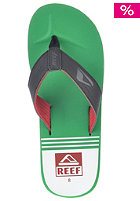 HT Prints Sandals red/green