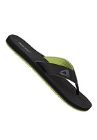 REEF HT Sandals black / lime green