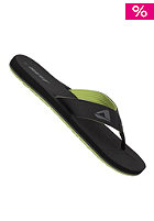REEF HT Sandals black / lime green