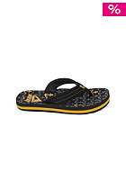 Kids Ahi Sandals black/gold