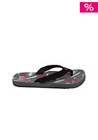 Kids Ahi Sandals grey/red/black