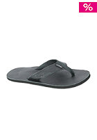 REEF Leather Smoothy Sandals black