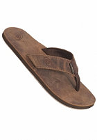 REEF Leather Smoothy Sandals bronze/brown