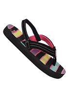 REEF Little Ahi Sandals black/multi/str