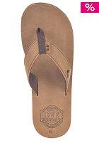 REEF Lthr Smoothy 30th Sandals bronze brown
