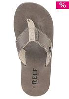 REEF Lthr Smoothy cool grey