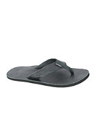 REEF Lthr Smoothy Sandals black