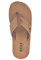 REEF Lthr Smoothy Sandals bronze brown