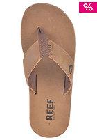 Lthr Smoothy Sandals bronze brown