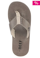 Lthr Smoothy Sandals cool grey