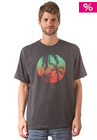 REEF Palmular S/S T-Shirt charcoal heather
