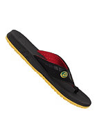 REEF Phantoms Sandals black/red/gold