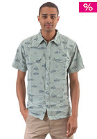 REEF Plains Surfer Western Shirt blue
