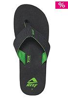 REEF Quencha TQT Sandals black/green