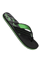 REEF Seared Ahi Sandals black/lime gree