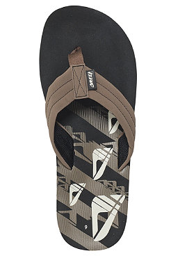 REEF Seared Ahi Sandals black/tan icon