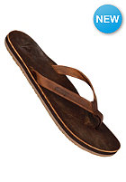 REEF Skinny Leather Sandals brown