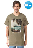 REEF Slidertron S/S T-Shirt light olive
