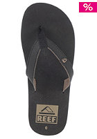 REEF Slim Smoothy Sandals black