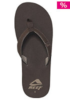 REEF Slim Smoothy Sandals brown