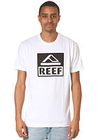 REEF Square Block PR S/S T-Shirt white