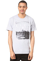 REEF Sunset Point S/S T-Shirt heather/grey