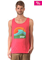 REEF Swellular Tank Top red heather