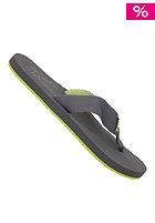 REEF Todos Sandals black / lime gr
