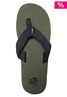 REEF Todos Sandals olive/black