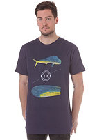 REEF Trophy S/S T-Shirt light navy