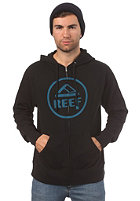 REEF Vintage Circle Hooded Zip Sweat black