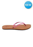 REEF Womens Bliss Luxe Sandals tobacco/pink