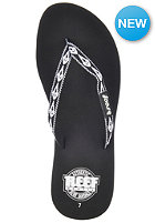REEF Womens Ginger 30 Yrs Sandals black/white