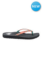 REEF Womens Ginger 30 Yrs Sandals grey/coral