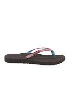 REEF Womens Ginger Sandals aqua/gold/pink