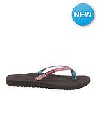 REEF Womens Ginger Sandals aqua/gold/pink