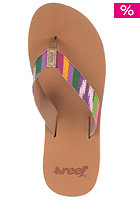 REEF Womens Guatemalan Love Sandals tan/multi